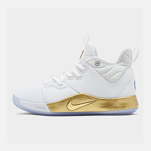 new concept 59dde b3c47 Boys' Big Kids' Nike PG 3 x NASA Basketball Shoes