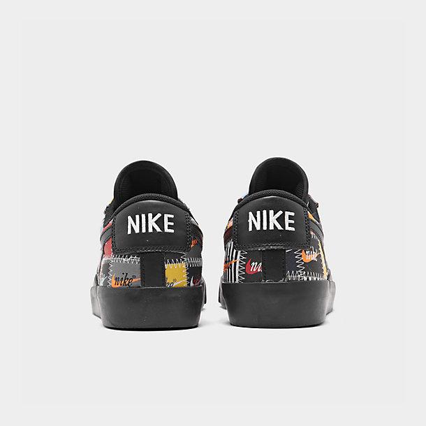 Details about Nike Blazer Low Premium Patches Men's Comfy Shoes Lifestyle Sneakers BlackMulti