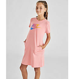 Girls' Nike Sportswear Future Femme T-Shirt Dress