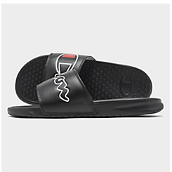 Men's Champion Super Slide Split Script Slide Sandals