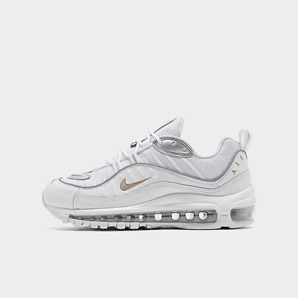 Women's Nike Air Max 98 Metallic Casual Shoes