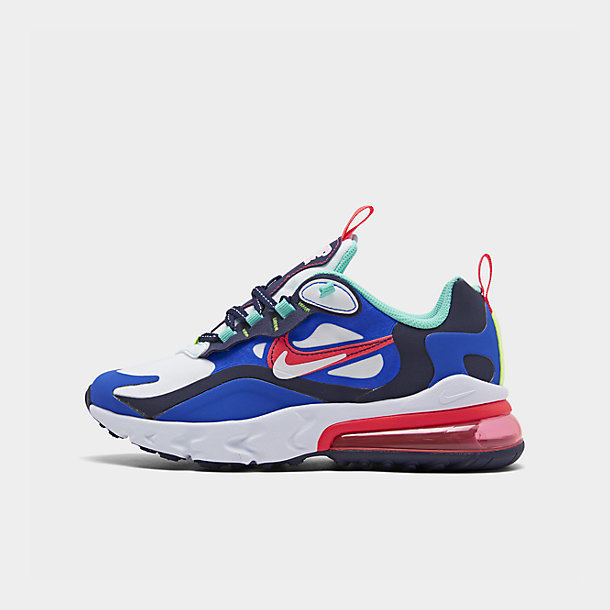 Big Kids' Nike Air Max 270 React SE Casual Shoes