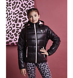 Girls' adidas Originals Trefoil Midseason Puffer Jacket