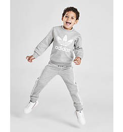 Infant and Kids' Toddler adidas Originals Crewneck Sweatshirt and Jogger Pants Set