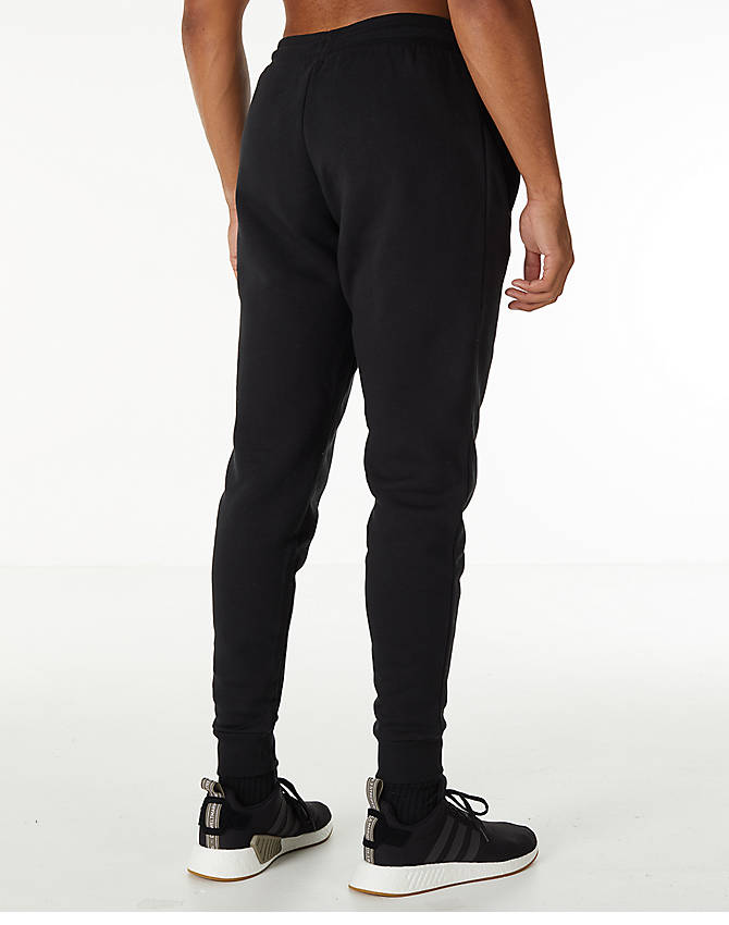 63f8cb321610f Back Right view of Men's adidas Originals adicolor Cuffed Jogger Pants in  Black