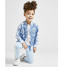 Girls' adidas Originals Allover Print Superstar Track Jacket