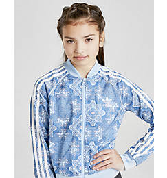 Little Girls' adidas Originals Culture Clash Crop Superstar Track Jacket