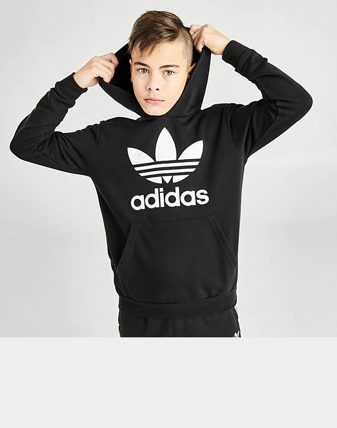 adidas Originals Men's Little Kids Trefoil Hoodie