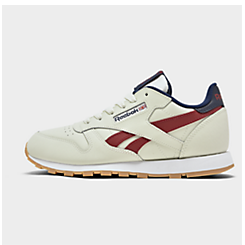 Boys' Big Kids' Reebok Classic Leather Casual Shoes