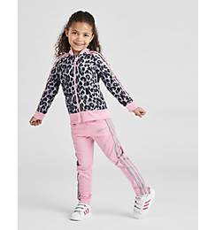 Girls' Toddler and Little Kids' adidas Originals Cheetah Track Suit
