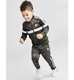 Kids' Toddler and Infant adidas Originals Full-Zip Track Suit