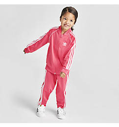 Girls' Infant and Toddler adidas Originals SST Track Suit