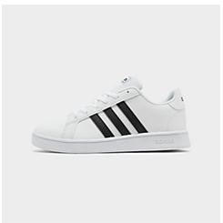 Boys' Big Kids' adidas Grand Court Casual Shoes