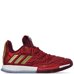 Men's adidas Harden Vol.3 X Marvel's Iron Man Basketball Shoes