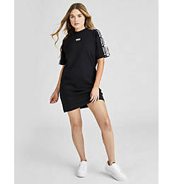 Women's adidas Originals Tape Tee Dress