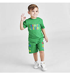 Infant and Kids' Toddler adidas Originals x Pharrell Williams TBIITD T-Shirt and Shorts Set