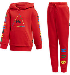 Toddler and Little Kids' adidas Originals x Pharrell Williams TBIITD Hoodie and Pants Set