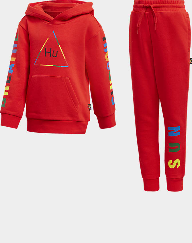 sports shoes biggest discount sleek Toddler and Little Kids' adidas Originals x Pharrell Williams TBIITD Hoodie  and Pants Set