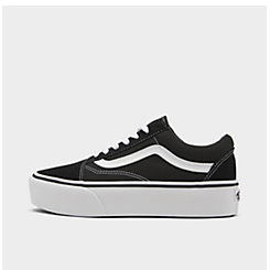 Women's Vans Old Skool Platform Casual Shoes