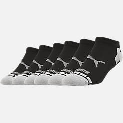 Men's Puma 1/2 Terry 6-Pack Low-Cut Socks