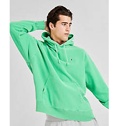 Men's Champion Yarn Dyed Rib Trim Hoodie