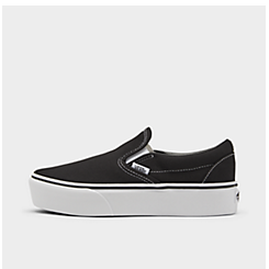 Women's Vans Classic Slip-On Platform Casual Shoes
