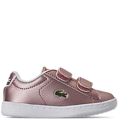 Girls' Toddler Lacoste Carnaby EVO Strap 319 Casual Shoes