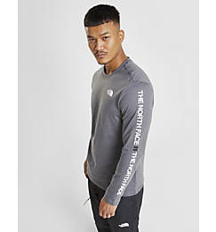 Men's The North Face Text Sleeve Logo Long-Sleeve T-Shirt