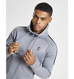 Men's Gym King Core Plus Full-Zip Poly Hoodie