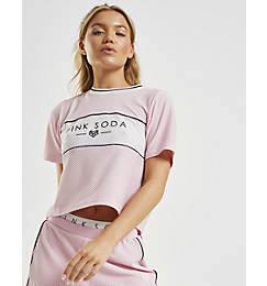 Women's Pink Soda Sport Harper Basketball T-Shirt