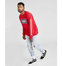Men's Vans Box Vee Long-Sleeve T-Shirt