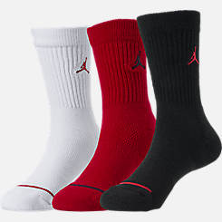 Kids' Jordan 3-Pack Crew Socks